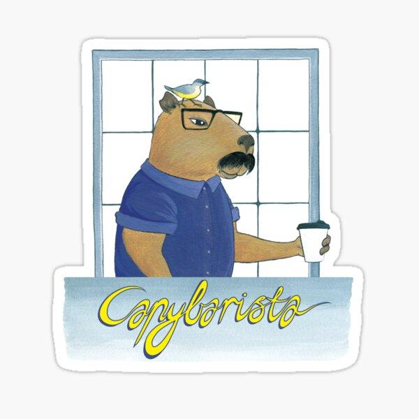 Capybarista Sticker