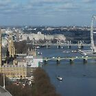 London Eye from on high by briandhay
