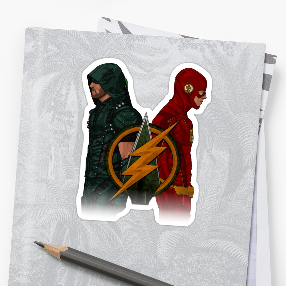 Green Arrow and The Flash by IronAvenger