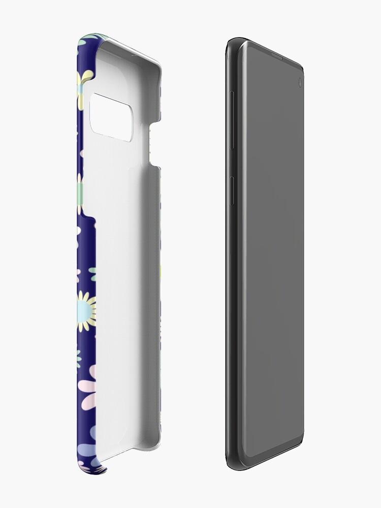 Alternative Ansicht von Blumenzusammensetzung Hülle & Klebefolie für Samsung Galaxy