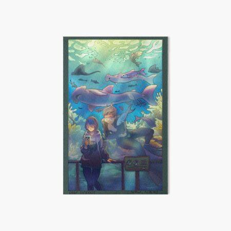 Deep Interest Art Board Print