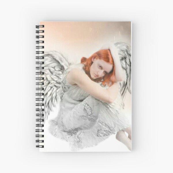 Saturday Angel Spiral Notebook