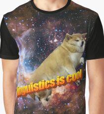linguistics is cool -- doggo aesthetic Graphic T-Shirt