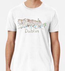 Dublin Panorama Premium T-Shirt