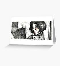 Mathilda Greeting Card