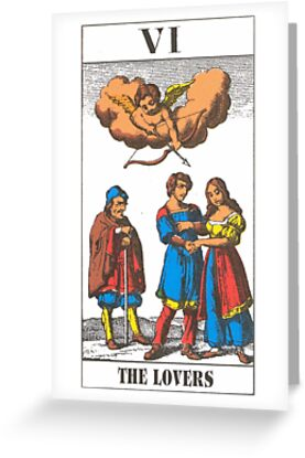 The Lovers Tarot by babydollchic