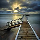 Safety Beach Jetty Sunset by Jim Worrall