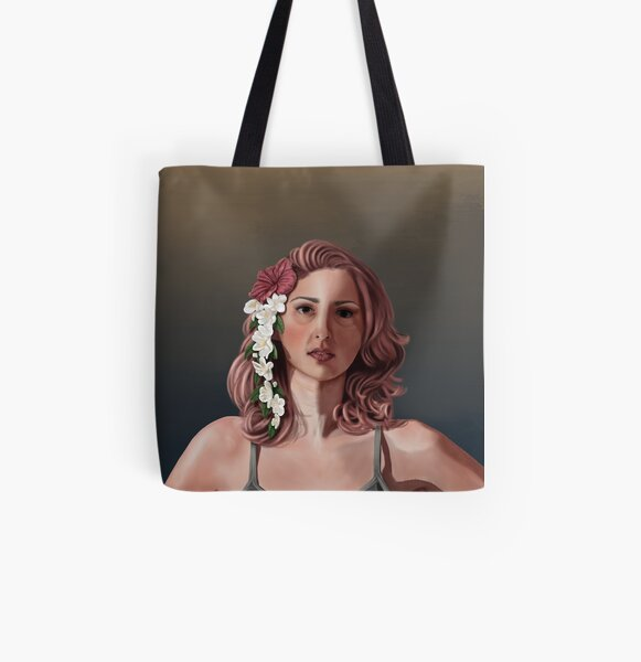 Isla All Over Print Tote Bag
