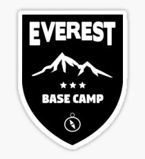 Everest Base Camp Stickers | Redbubble