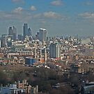 City of London from Millbank by briandhay
