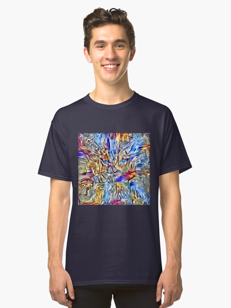 Alternate view of Abstract creature Classic T-Shirt