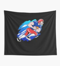American Football Player T shirt Gift For Football Lovera Wall Tapestry