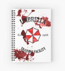 Cuaderno de espiral Umbrella Training Facility Vintage Resident Evil