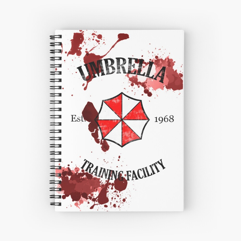 Umbrella Training Facility Vintage Resident Evil Cuaderno de espiral