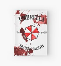 Umbrella Training Facility Vintage Resident Evil Hardcover Journal