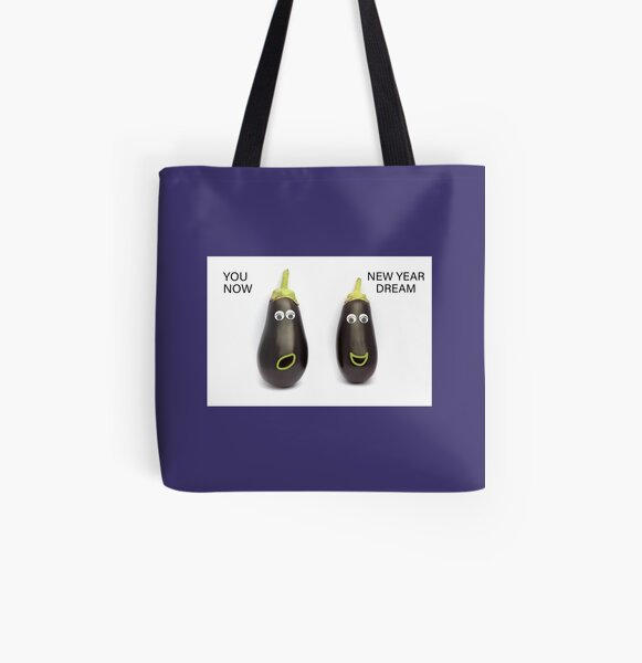 NEW YEAR'S RESOLUTION All Over Print Tote Bag