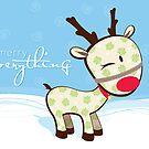sweet little reindeer 2 by Kat Massard