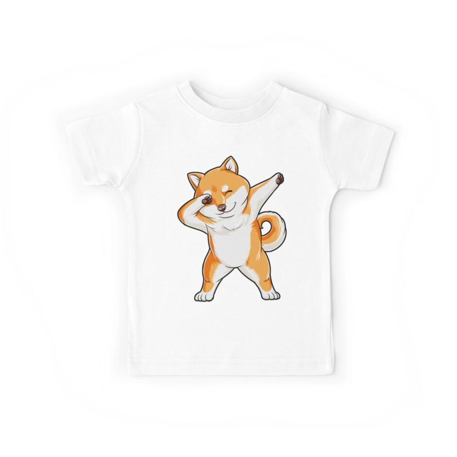 «Dabbing Doge Shiba Inu camiseta divertida Meme Japanese Dog Puppy Gift para Animal Lover» de LiqueGifts