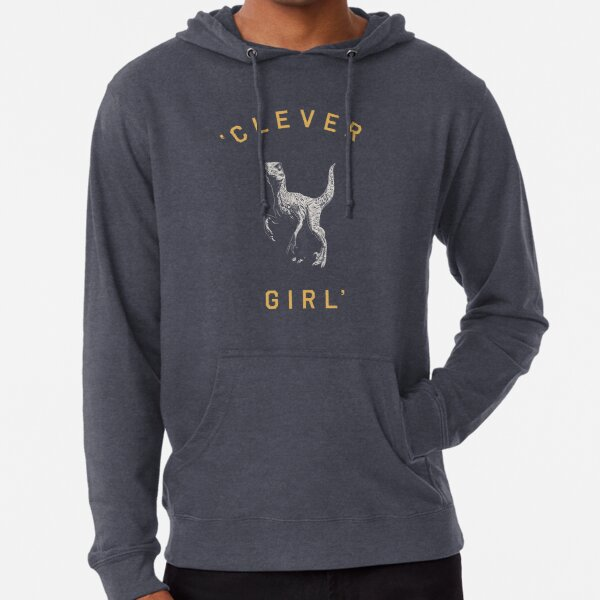 Clever Girl - Dark Lightweight Hoodie