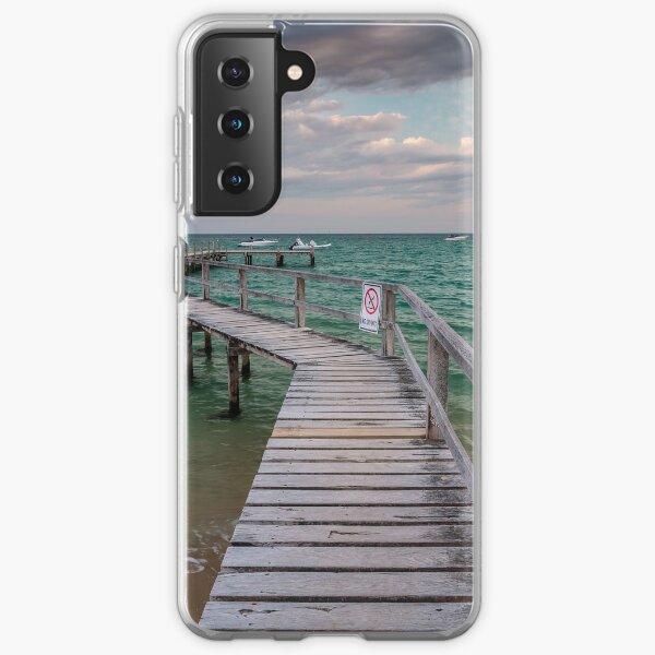 Shelley Beach Jetty, Portsea Samsung Galaxy Soft Case