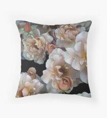 Julia's Rose Throw Pillow
