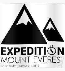 Mount Everest Expedition Poster