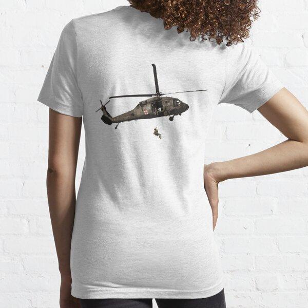 Army DUSTOFF Blackhawk Hoist Essential T-Shirt