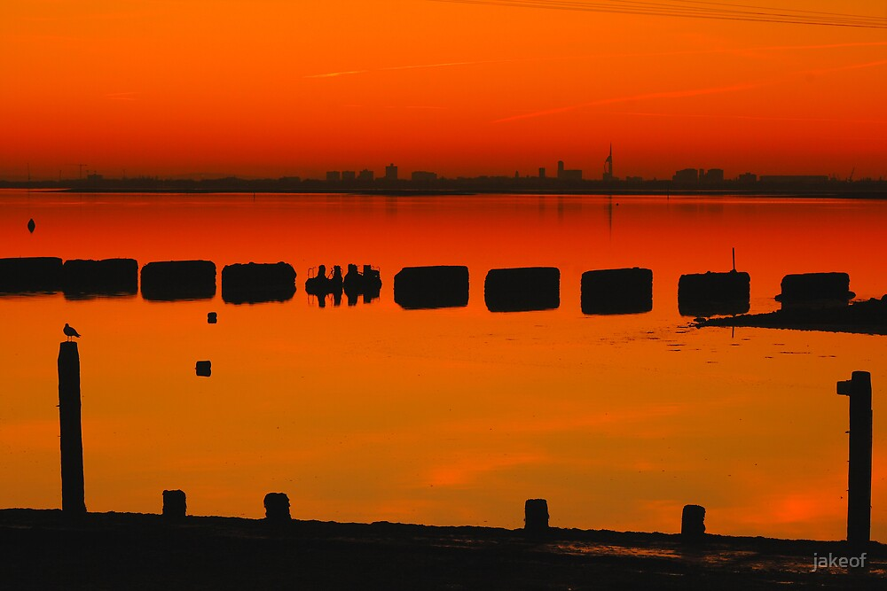 Sillouettes After Sunset by jakeof