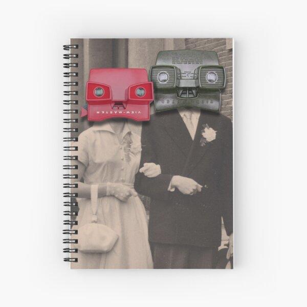 A match (viewmaster) Spiral Notebook