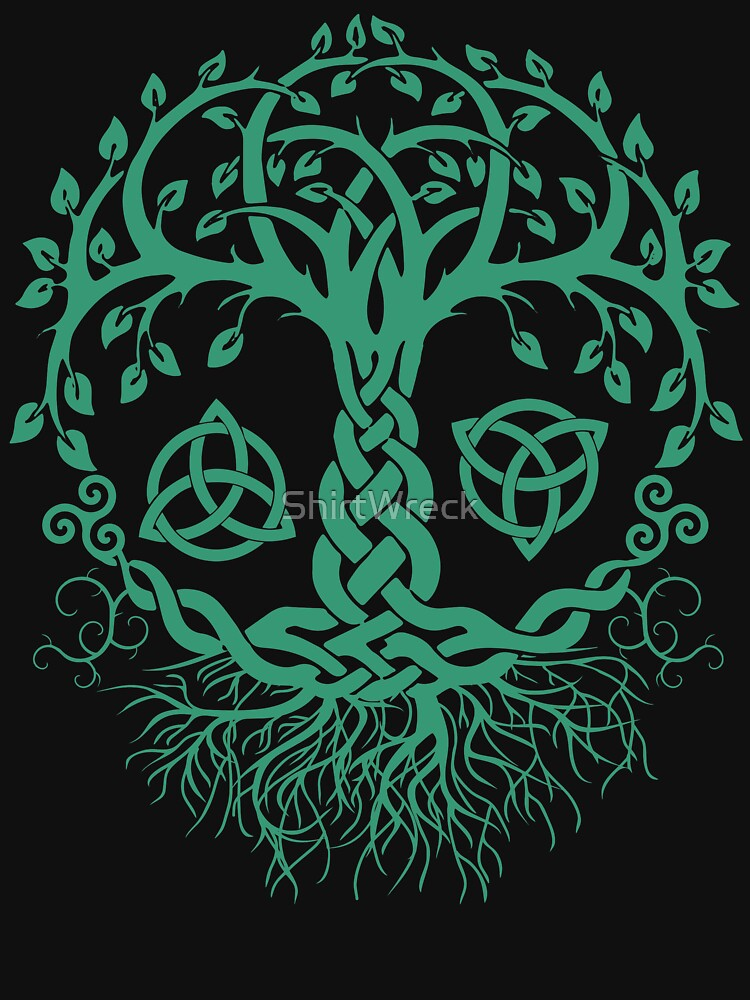 CELTIC TREE OF LIFE - PAGAN, VIKING, CELTIC AND DRUIDISM by ShirtWreck