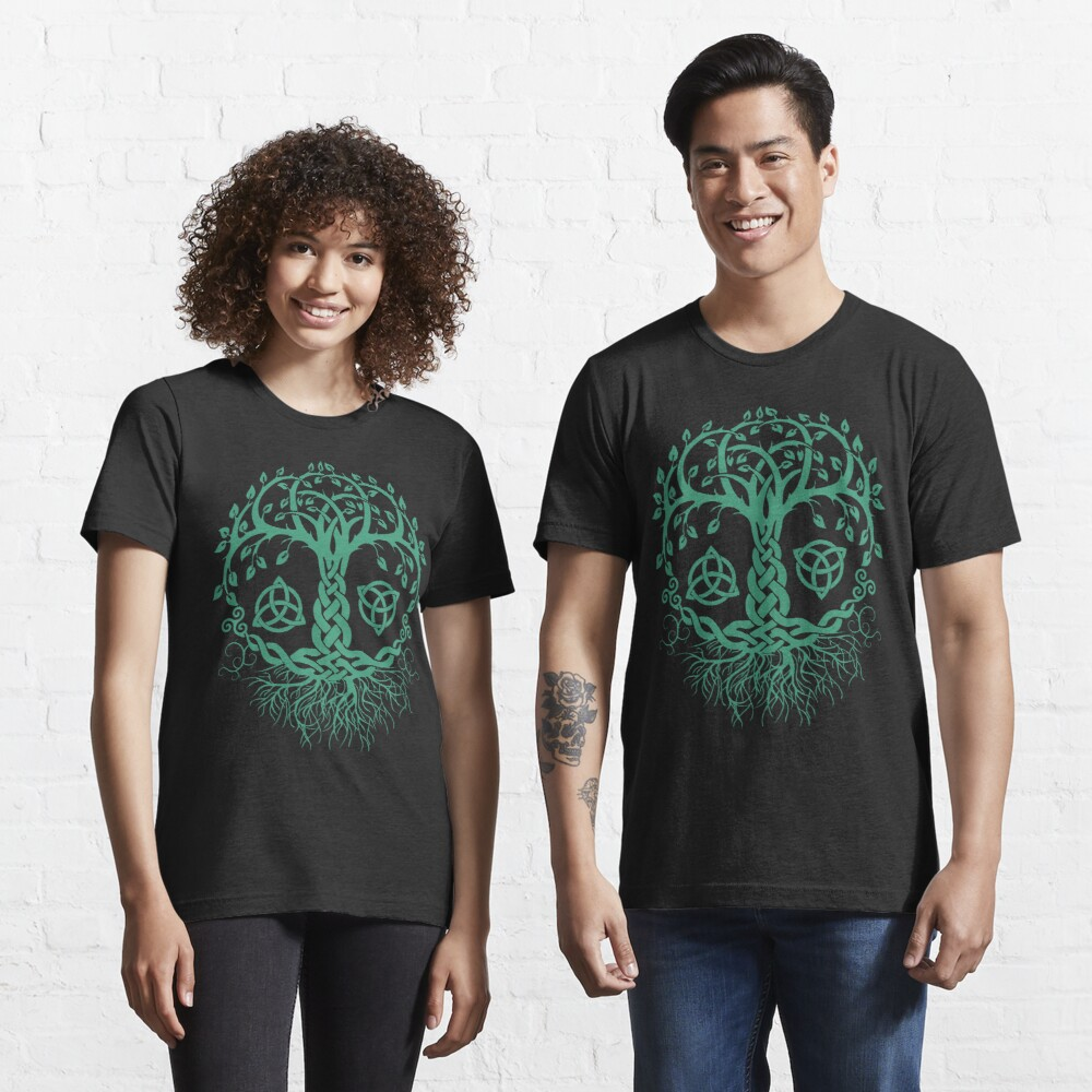 CELTIC TREE OF LIFE - PAGAN, VIKING, CELTIC AND DRUIDISM Essential T-Shirt