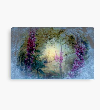 The Celestial  Winter to  Eternal  Spring      Canvas Print