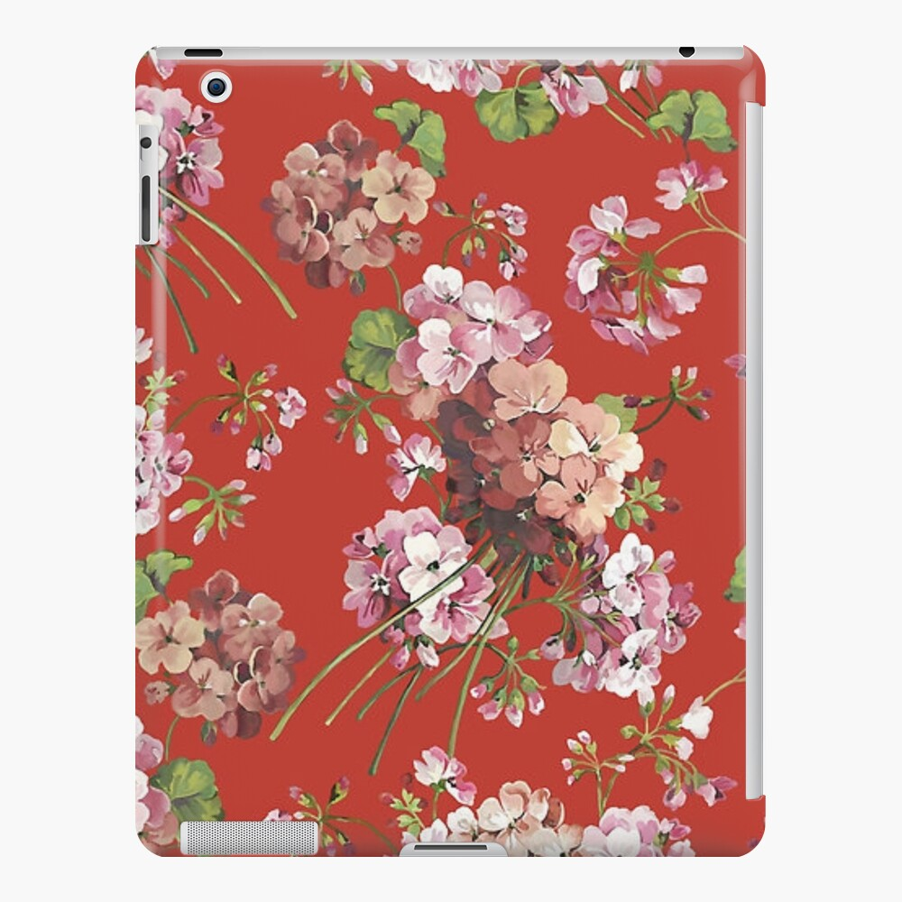 Harry Styles Red Floral Funda y vinilo para iPad