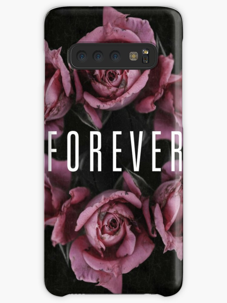 Forever Roses Typograpy Quote Cases Skins For Samsung Galaxy By