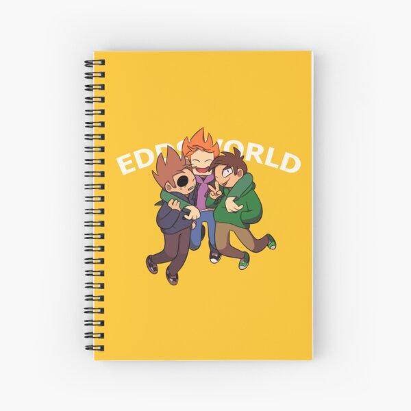 """Eddsworld - """"Jump!!"""" Spiral Notebook"""