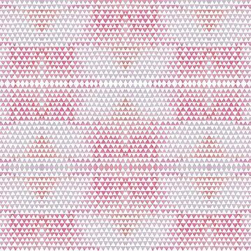 Pink triangles pattern. by waarpys