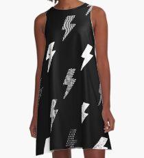 thunder pattern A-Line Dress