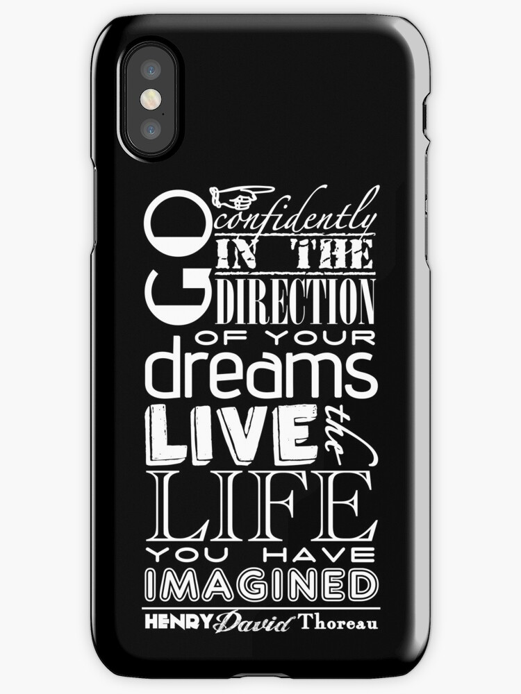 Henry David Thoreau Dreams Quote by Incognita Enterprises