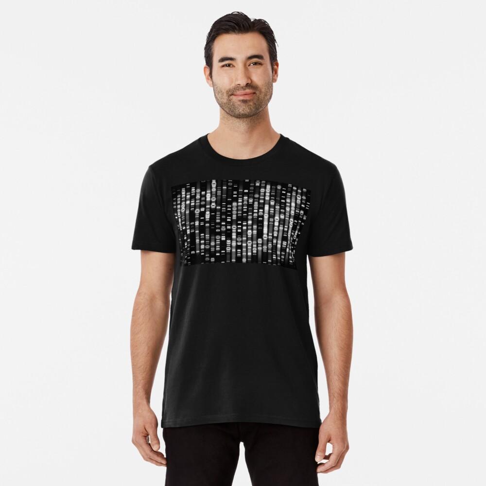 Abstrakte DNA - Schwarz - © Doc Braham; Alle Rechte vorbehalten Premium T-Shirt