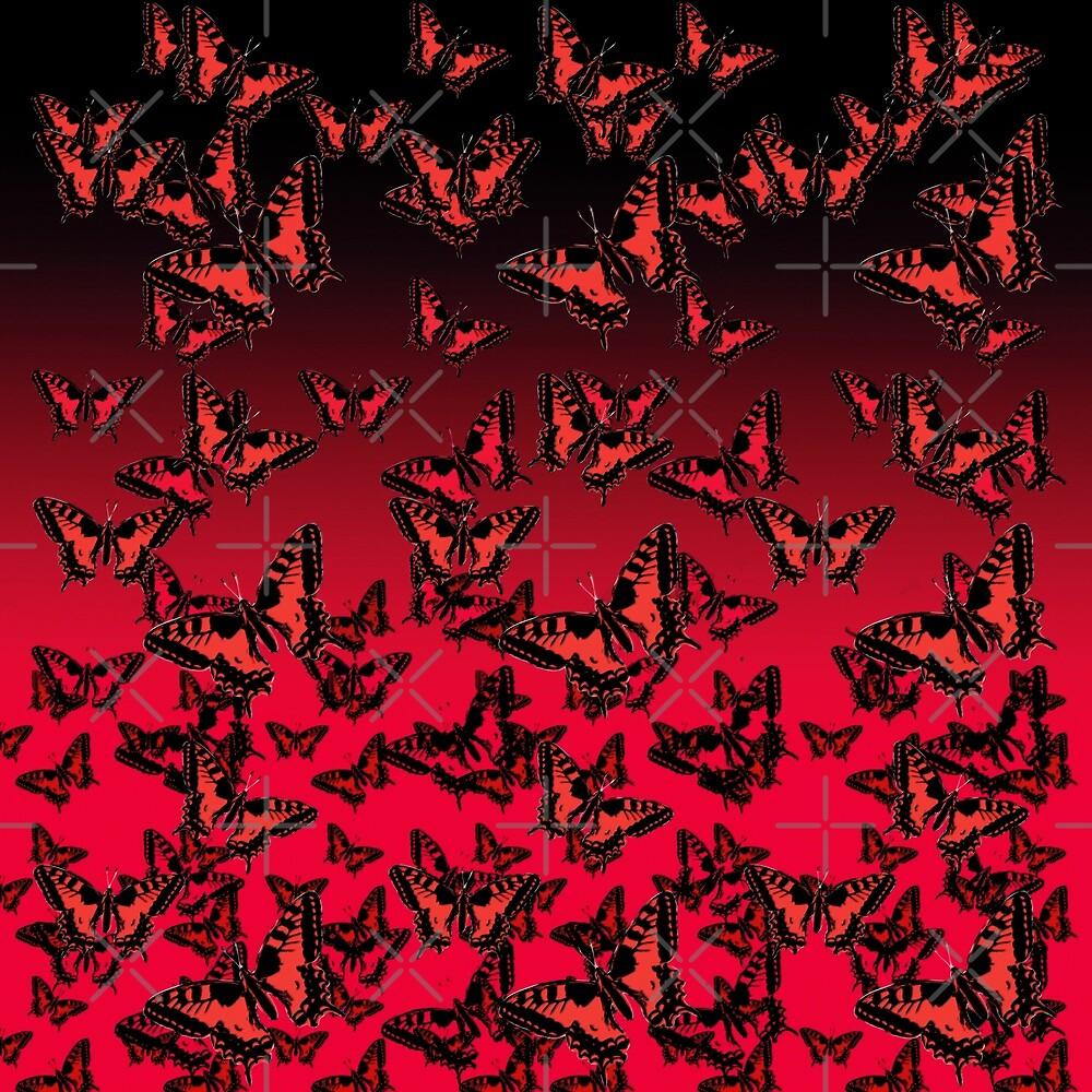 red butterflies von cglightNing