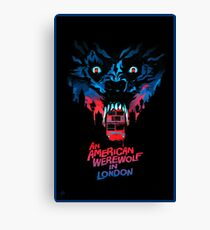 American Werewolf London -  Classic Movies Canvas Print