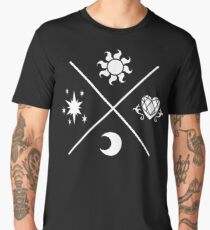 MLP Princesses Symbols Men's Premium T-Shirt