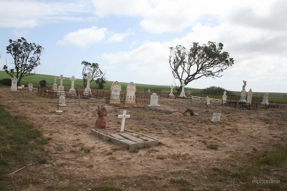 Old Graveyard, S.A. by elphonline