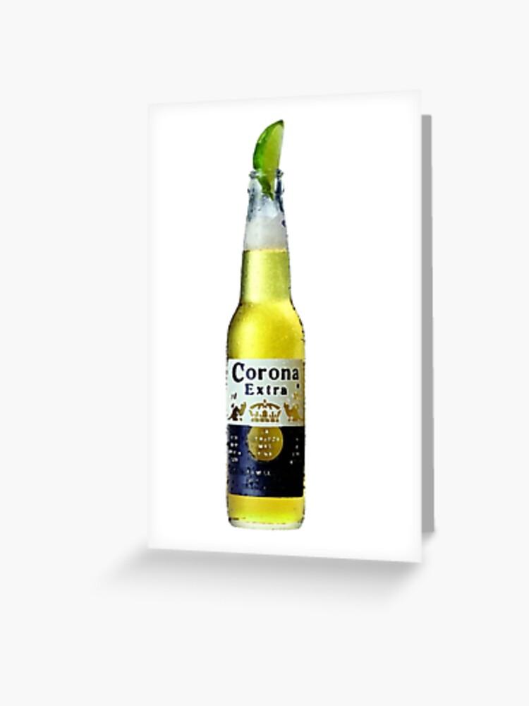 Corona Lime Greeting Card By Antoniocreates Redbubble
