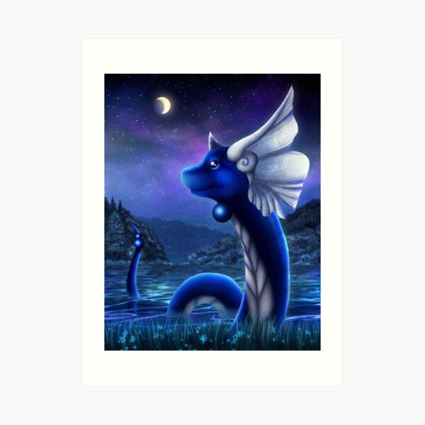 Dragonair Art Print