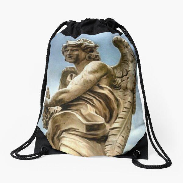 Sky Angel Drawstring Bag