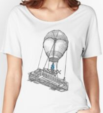 Fortnite Bus Drawing Women's Relaxed Fit T-Shirt