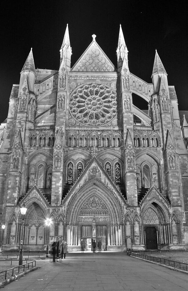 Westminster Abbey by MyLondonArt