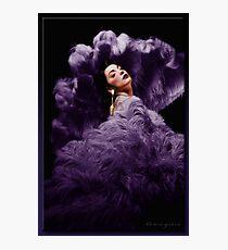 The Fan Dancer Photographic Print