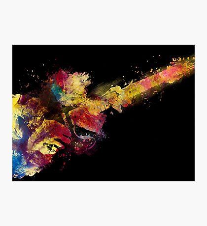guitar art 8 #guitar #art #music Photographic Print
